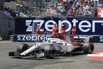 World © Octane Photographic Ltd. Formula 1 – Monaco GP - Qualifying. Alfa Romeo Sauber F1 Team C37 – Marcus Ericsson. Monte-Carlo. Saturday 26th May 2018.