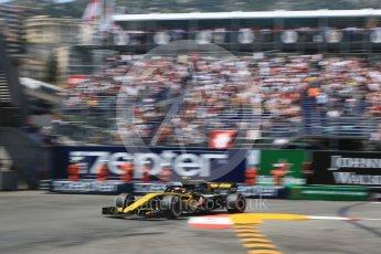 World © Octane Photographic Ltd. Formula 1 – Monaco GP - Qualifying. Renault Sport F1 Team RS18 – Carlos Sainz. Monte-Carlo. Saturday 26th May 2018.