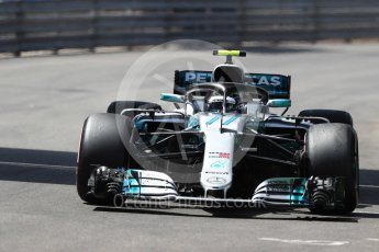 World © Octane Photographic Ltd. Formula 1 – Monaco GP - Qualifying. Mercedes AMG Petronas Motorsport AMG F1 W09 EQ Power+ - Valtteri Bottas. Monte-Carlo. Saturday 26th May 2018.
