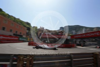 World © Octane Photographic Ltd. Formula 1 – Monaco GP - Qualifying. Alfa Romeo Sauber F1 Team C37 – Marcus Ericsson. Monte-Carlo. Saturday 26th May 2018.
