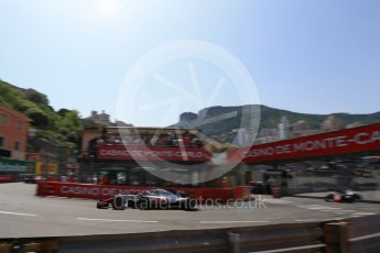 World © Octane Photographic Ltd. Formula 1 – Monaco GP - Qualifying. Haas F1 Team VF-18 – Kevin Magnussen. Monte-Carlo. Saturday 26th May 2018.