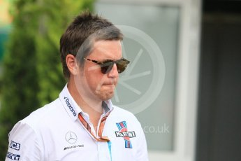 World © Octane Photographic Ltd. Formula 1 - Monaco GP - Paddock. Rob Smedley – Head of Performance Engineering. Monte-Carlo. Sunday 27th May 2018.