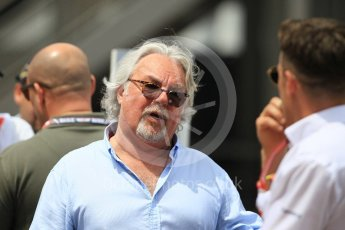 World © Octane Photographic Ltd. Formula 1 – Monaco GP - Paddock. Keke Rosberg. Monte-Carlo. Thursday 24th May 2018.