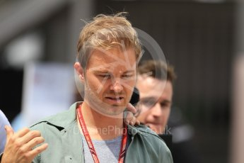 World © Octane Photographic Ltd. Formula 1 – Monaco GP - Paddock. Nico Rosberg. Monte-Carlo. Thursday 24th May 2018.