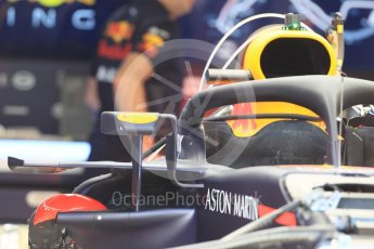 World © Octane Photographic Ltd. Formula 1 – Monaco GP - Setup. Aston Martin Red Bull Racing TAG Heuer RB14. Monte-Carlo. Wednesday 23rd May 2018.