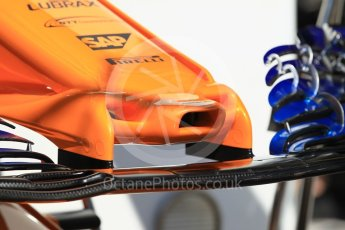 World © Octane Photographic Ltd. Formula 1 – Monaco GP - Setup. McLaren MCL33. Monte-Carlo. Wednesday 23rd May 2018.