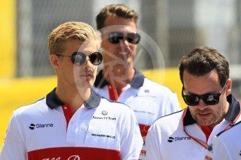 World © Octane Photographic Ltd. Formula 1 – Monaco GP - Setup. Alfa Romeo Sauber F1 Team C37 – Marcus Ericsson. Monte-Carlo. Wednesday 23rd May 2018.