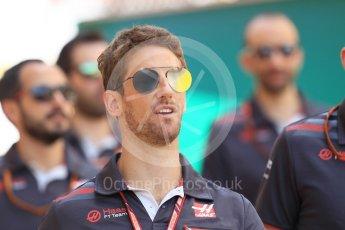 World © Octane Photographic Ltd. Formula 1 – Monaco GP - Setup. Haas F1 Team VF-18 – Romain Grosjean. Monte-Carlo. Wednesday 23rd May 2018.