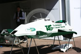 World © Octane Photographic Ltd. Formula 1 – Monaco GP - Setup. Williams FW07C. Monte-Carlo. Wednesday 23rd May 2018.