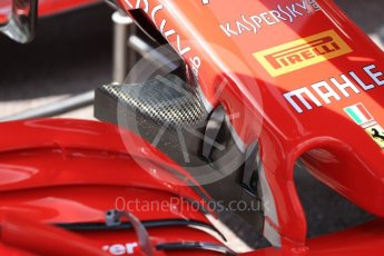 World © Octane Photographic Ltd. Formula 1 – Monaco GP - Setup. Scuderia Ferrari. Monte-Carlo. Wednesday 23rd May 2018.