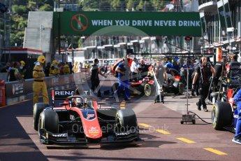 World © Octane Photographic Ltd. FIA Formula 2 (F2) – Monaco GP - Practice. ART Grand Prix - Jack Aitken. Monte Carlo. Thursday 24th May 2018.