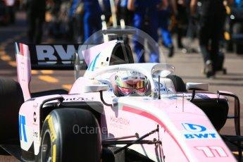 World © Octane Photographic Ltd. FIA Formula 2 (F2) – Monaco GP - Practice. BWT Arden - Maximilian Gunther. Monte Carlo. Thursday 24th May 2018.
