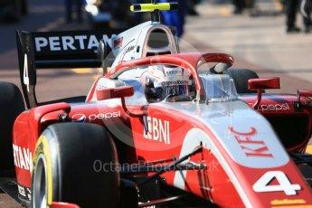 World © Octane Photographic Ltd. FIA Formula 2 (F2) – Monaco GP - Practice. Prema Powerteam - Nyck de Vries. Monte Carlo. Thursday 24th May 2018.