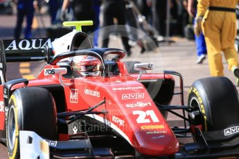 World © Octane Photographic Ltd. FIA Formula 2 (F2) – Monaco GP - Practice. Carouz - Antonio Fuoco. Monte Carlo. Thursday 24th May 2018.