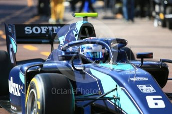World © Octane Photographic Ltd. FIA Formula 2 (F2) – Monaco GP - Practice. DAMS - Nicholas Latifi. Monte Carlo. Thursday 24th May 2018.