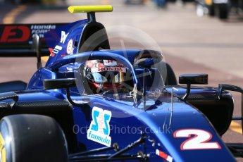 World © Octane Photographic Ltd. FIA Formula 2 (F2) – Monaco GP - Practice. Russian Time - Tadasuke Makino. Monte Carlo. Thursday 24th May 2018.