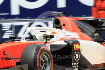World © Octane Photographic Ltd. FIA Formula 2 (F2) – Monaco GP - Qualifying. MP Motorsport - Roberto Merhi. Monte Carlo. Thursday 24th May 2018.