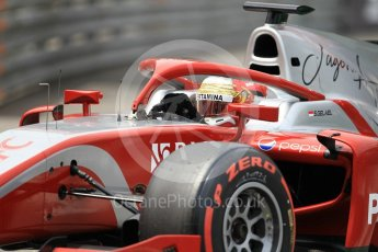 World © Octane Photographic Ltd. FIA Formula 2 (F2) – Monaco GP - Qualifying. Prema Powerteam - Sean Gelael. Monte Carlo. Thursday 24th May 2018.