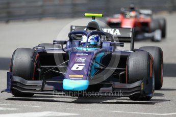 World © Octane Photographic Ltd. FIA Formula 2 (F2) – Monaco GP - Qualifying. DAMS - Nicholas Latifi. Monte Carlo. Thursday 24th May 2018.