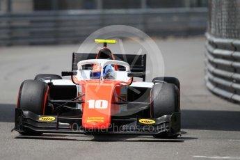 World © Octane Photographic Ltd. FIA Formula 2 (F2) – Monaco GP - Qualifying. MP Motorsport - Ralph Boschung. Monte Carlo. Thursday 24th May 2018.