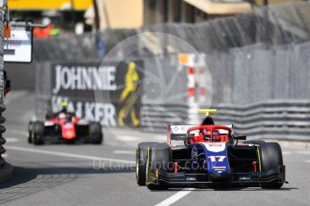 World © Octane Photographic Ltd. FIA Formula 2 (F2) – Monaco GP - Race 1. Trident - Santino Ferrucci. Monte Carlo. Friday 25th May 2018.