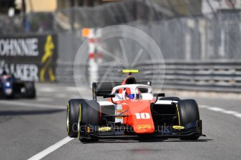 World © Octane Photographic Ltd. FIA Formula 2 (F2) – Monaco GP - Race 1. MP Motorsport - Ralph Boschung. Monte Carlo. Friday 25th May 2018.