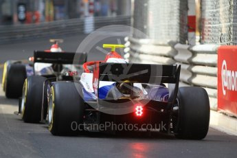 World © Octane Photographic Ltd. FIA Formula 2 (F2) – Monaco GP - Race 2. Trident - Arjun Maini and Santino Ferrucci. Monte Carlo. Saturday 26th May 2018.
