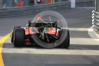 World © Octane Photographic Ltd. FIA Formula 2 (F2) – Monaco GP - Race 2. MP Motorsport - Ralph Boschung. Monte Carlo. Saturday 26th May 2018.