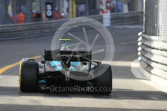 World © Octane Photographic Ltd. FIA Formula 2 (F2) – Monaco GP - Race 2. DAMS - Nicholas Latifi. Monte Carlo. Saturday 26th May 2018.