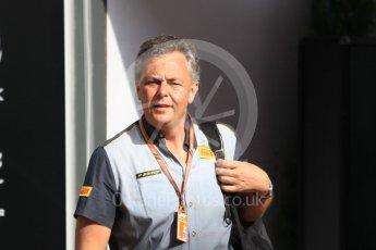 World © Octane Photographic Ltd. Formula 1 - Monaco GP - Paddock. Mario Isola – Pirelli Head of Car Racing. Monte-Carlo. Saturday 26th May 2018.