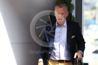 World © Octane Photographic Ltd. Formula 1 – Monaco GP - Paddock. Sean Bratches - Managing Director, Commercial Operations of Liberty Media. Monte-Carlo. Saturday 26th May 2018.