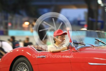 World © Octane Photographic Ltd. Formula 1 – Singapore GP - Drivers Parade. Spare Car. Marina Bay Street Circuit, Singapore. Sunday 16th September 2018.