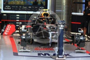 World © Octane Photographic Ltd. Formula 1 – Singapore GP - Thursday Pit Lane. Aston Martin Red Bull Racing TAG Heuer RB14. Marina Bay Street Circuit, Singapore. Thursday 13th September 2018.