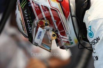 World © Octane Photographic Ltd. Formula 1 – Singapore GP – Practice 3. Mercedes AMG Petronas Motorsport AMG F1 W09 EQ Power+ - Lewis Hamilton. Marina Bay Street Circuit, Singapore. Saturday 15th September 2018.
