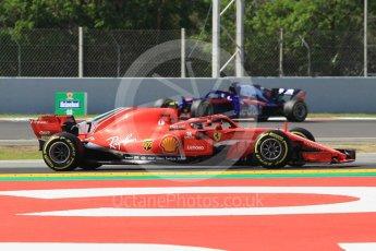 World © Octane Photographic Ltd. Formula 1 – Spanish GP - Practice 1. Scuderia Ferrari SF71-H – Kimi Raikkonen. Circuit de Barcelona-Catalunya, Spain. Friday 11th May 2018.