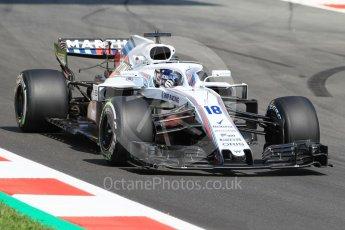 World © Octane Photographic Ltd. Formula 1 – Spanish GP - Practice 1. Williams Martini Racing FW41 – Lance Stroll. Circuit de Barcelona-Catalunya, Spain. Friday 11th May 2018.