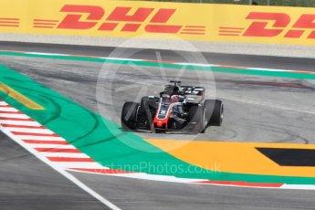 World © Octane Photographic Ltd. Formula 1 – Spanish GP - Practice 1. Haas F1 Team VF-18 – Romain Grosjean. Circuit de Barcelona-Catalunya, Spain. Friday 11th May 2018.