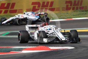 World © Octane Photographic Ltd. Formula 1 – Spanish GP - Practice 1. Alfa Romeo Sauber F1 Team C37 – Marcus Ericsson. Circuit de Barcelona-Catalunya, Spain. Friday 11th May 2018.