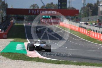 World © Octane Photographic Ltd. Formula 1 – Spanish GP - Practice 1. Haas F1 Team VF-18 – Kevin Magnussen. Circuit de Barcelona-Catalunya, Spain. Friday 11th May 2018.