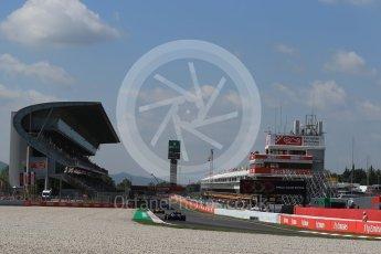 World © Octane Photographic Ltd. Formula 1 – Spanish GP - Friday - Practice 1. Scuderia Toro Rosso STR13 – Pierre Gasly. Circuit de Barcelona-Catalunya, Spain. Friday 11th May 2018.