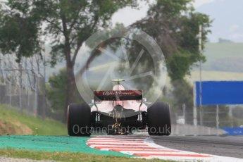 World © Octane Photographic Ltd. Formula 1 – Spanish GP - Saturday Practice 3. Alfa Romeo Sauber F1 Team C37 – Charles Leclerc. Circuit de Barcelona-Catalunya, Spain. Saturday 12th May 2018.