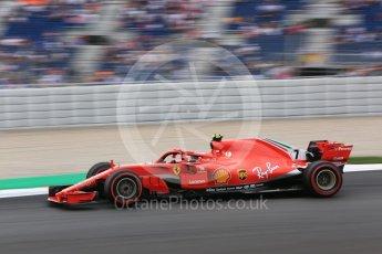 World © Octane Photographic Ltd. Formula 1 – Spanish GP - Saturday Practice 3. Scuderia Ferrari SF71-H – Kimi Raikkonen. Circuit de Barcelona-Catalunya, Spain. Saturday 12th May 2018.