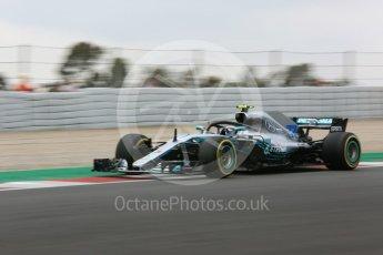 World © Octane Photographic Ltd. Formula 1 – Spanish GP - Saturday Practice 3. Mercedes AMG Petronas Motorsport AMG F1 W09 EQ Power+ - Valtteri Bottas. Circuit de Barcelona-Catalunya, Spain. Saturday 12th May 2018.