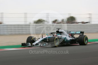 World © Octane Photographic Ltd. Formula 1 – Spanish GP - Saturday Practice 3. Mercedes AMG Petronas Motorsport AMG F1 W09 EQ Power+ - Lewis Hamilton. Circuit de Barcelona-Catalunya, Spain. Saturday 12th May 2018.