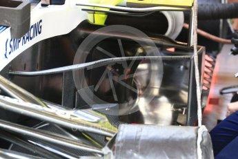 World © Octane Photographic Ltd. Formula 1 – Spanish GP - Saturday Practice 3. Williams Martini Racing FW41. Circuit de Barcelona-Catalunya, Spain. Saturday 12th May 2018.