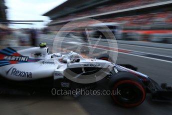 World © Octane Photographic Ltd. Formula 1 – Spanish GP - Saturday - Practice 3. Williams Martini Racing FW41 – Sergey Sirotkin. Circuit de Barcelona-Catalunya, Spain. Saturday 12th May 2018.