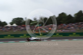 World © Octane Photographic Ltd. Formula 1 – Spanish GP - Saturday Qualifying. Williams Martini Racing FW41 – Lance Stroll. Circuit de Barcelona-Catalunya, Spain. Saturday 12th May 2018.