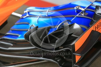 World © Octane Photographic Ltd. Formula 1 – Spanish GP - Saturday Qualifying. McLaren MCL33. Circuit de Barcelona-Catalunya, Spain. Saturday 12th May 2018.