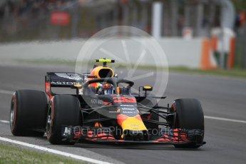 World © Octane Photographic Ltd. Formula 1 – Spanish GP - Race. Aston Martin Red Bull Racing TAG Heuer RB14 – Max Verstappen. Circuit de Barcelona-Catalunya, Spain. Sunday 13th May 2018.