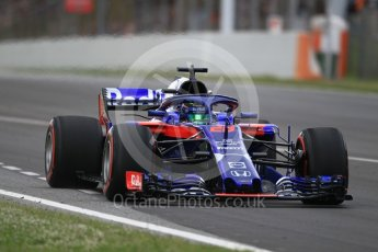 World © Octane Photographic Ltd. Formula 1 – Spanish GP - Race. Scuderia Toro Rosso STR13 – Pierre Gasly. Circuit de Barcelona-Catalunya, Spain. Sunday 13th May 2018.
